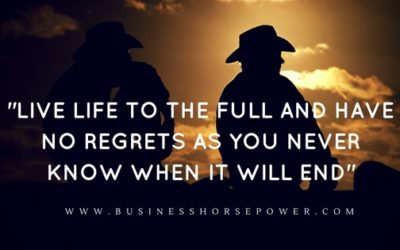 Are You Living A Life Of No Regrets?
