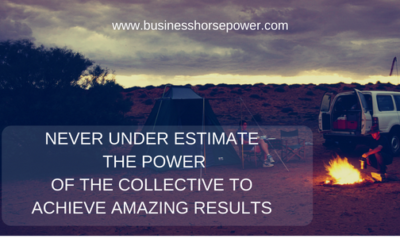 Don't Under Estimate the Power of The Collective….