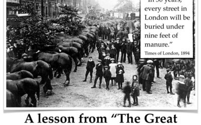 Lessons From The Great Horse Manure Crisis