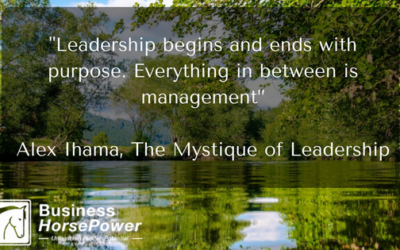 Leadership Begins and Ends With Purpose
