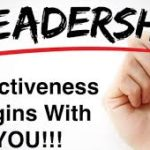 leadership begins with you